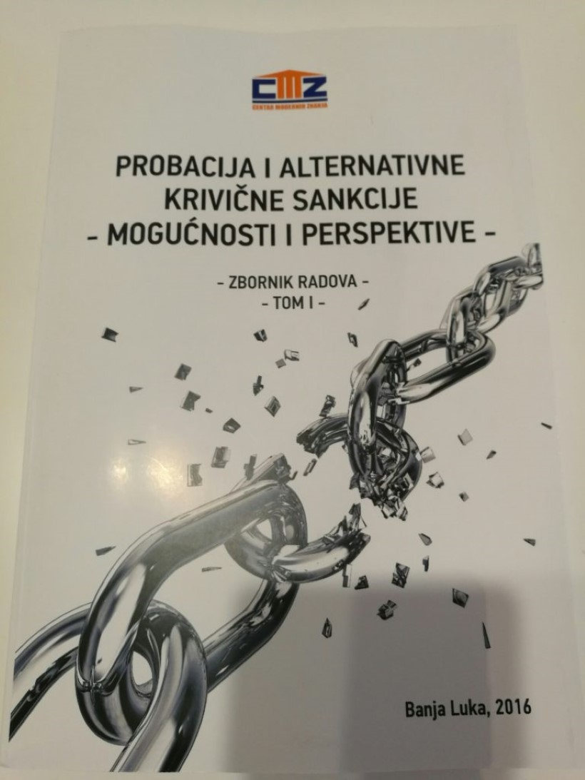 PROBACIJA I ALTERNATIVNE KRIVIČNE SANKCIJE, TOM 1